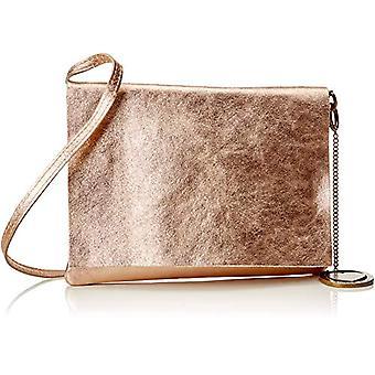 Chicca Bags Cbc3325tar Women's Shoulder Bag (Ruga Rose) 1x18x23 cm (W x H x L)