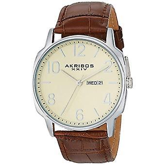 Akribos XXIV relógio homem ref. AK801BR, E
