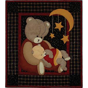Baby Bear Wall Quilt Kit 13