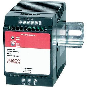 Rail mounted PSU (DIN) TracoPower TPC 080-112 12 Vdc 6 A 72 W 1 x