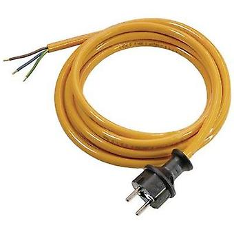 Current Cable [ PG plug - Cable, open-ended] Orange 5 m as - Schwabe 70919