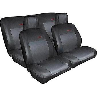 Seat covers Eufab 28059 Cotton, Polyester Black