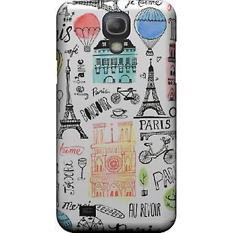 Täcka skjuta paris monument för Galaxy S4 mini