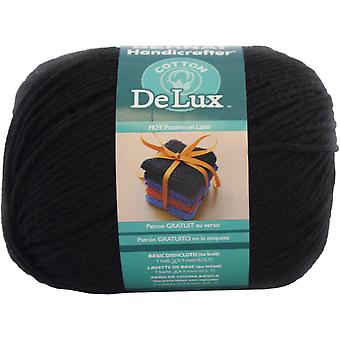Handicrafter DeLux Cotton Yarn-Black 162078-78040