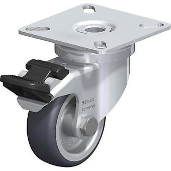 Blickle 346619 Device swivel castor, Ø 50 mm with locking device Type (misc.) Swivel castor with mounting plate and stop
