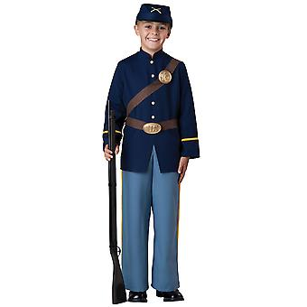 Civil War Soldier American Union Army Hero Boys Costume