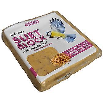 Oksetalg gå blok Mealworm 300g Cdu (pakke med 10)