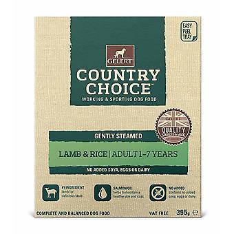 Gelert land valg bakke lam 395g (pakke med 10)