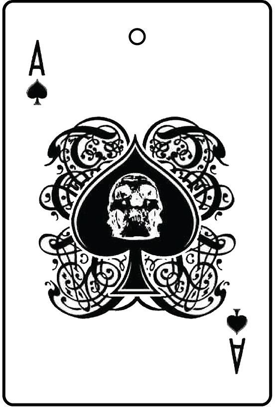 Ace Of Spades bil luftfräschare