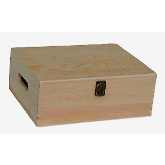 30cm Wooden Bottle Carrier Box