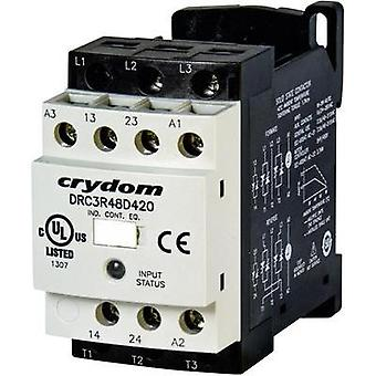 Reversing contactor 1 pc(s) DRC3R40A400 Crydom Current load: 7.6 A Switching voltage (max.): 415 Vac