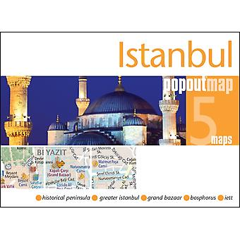Istanbul Popout Map (Popout Maps) (Map) by Popout Maps