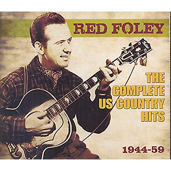 Red Foley - Red Foley: Complete Us Country Hits 1944-59 [CD] USA import