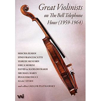 Great Violinists of the Bell Telephone Hour 1959-6 [DVD] USA import