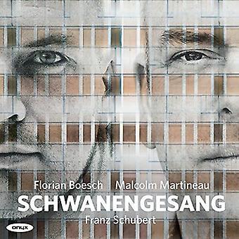 Schubert / Boesch / Martineau - Schwanengesang D957 Wer Sich an Der Einsamkeit Ergieb [CD] USA import