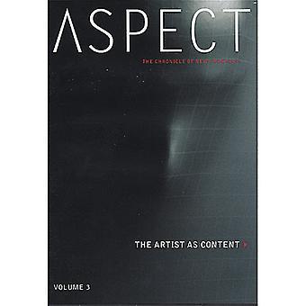 Vol. 3-Artist som innhold [DVD] USA importere