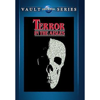 Terror in the Aisles [DVD] USA import