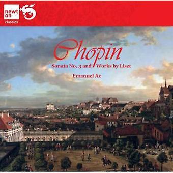 Chopin/Liszt - Chopin: Sonate nr. 3; Værker af Liszt [CD] USA importerer