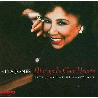 Etta Jones - altid i vores hjerter-Etta Jones som vi [CD] USA import