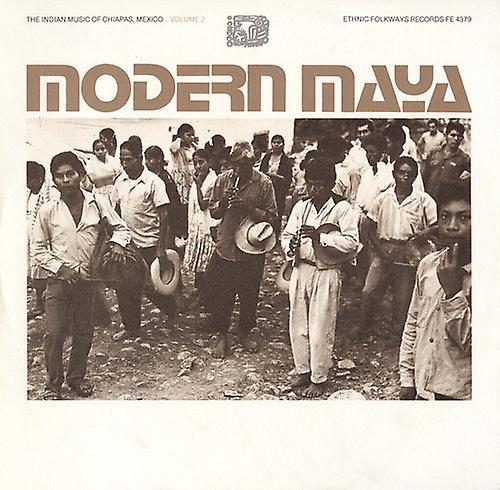 Modern Maya - Modern Maya: Vol. 2-Indian Music of Chiapas Mexico [CD] USA import