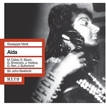 Verdi / Callas / Langdon / Simionato / Baum / DMU - Aida [CD] USA import