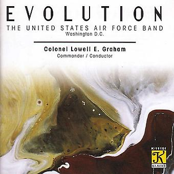 United States Air Force Band - Evolution [CD] USA importerer