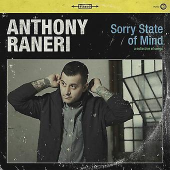 Anthony Raneri - importación de Estados Unidos lo siento estado de la mente [CD]