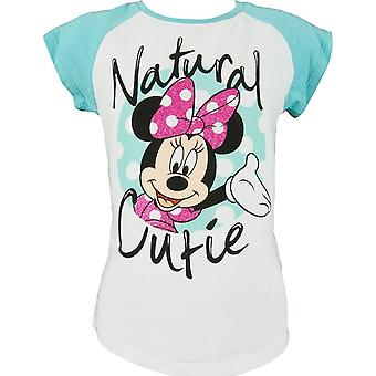 Disney Minnie Mouse Girls Short Sleeve T-shirt