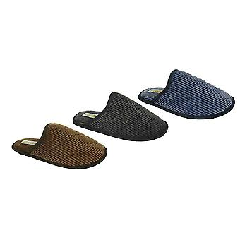 Mens COOLERS Quilted Cord Mule SLIPPER G011