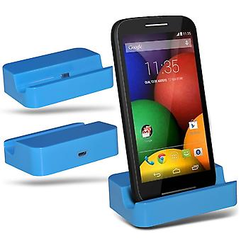 ONX3 Xiaomi mi Note 2 Micro USB Charging Dock Cradle Desktop Charger Station-Blue