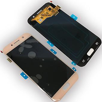 Display LCD complete set GH97 19733D Pink for Samsung Galaxy A5 A520F 2017