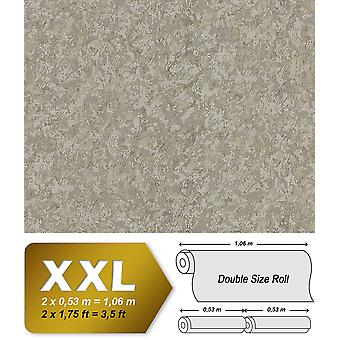 Uni wallpaper EDEM 9076-26 non-woven wallpaper characterized in trowel finish and metallic effect beige perl gold 10.65 m2