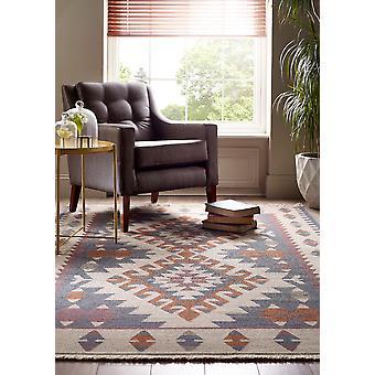 Kalim, Kalim 2 flecos rectángulo alfombras alfombras tradicionales