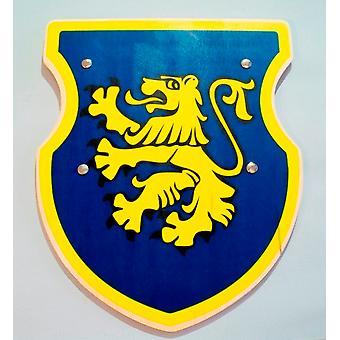 Shield Knight armor Edelmann child costume blue