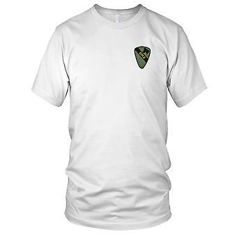 US Army Infantry 1st Cavalry - DMZ Subdued Military Insignia Vietnam War Embroidered Patch - Ladies T Shirt
