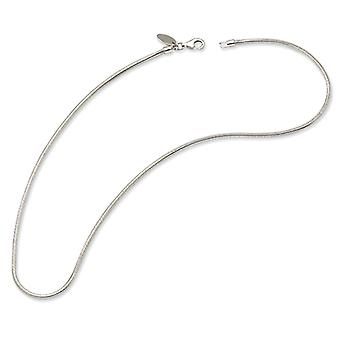 Sterling Silver Polished Fancy Lobster Closure Reflections Kids 34cm Bead Necklace - Length: 12.5 to 15.75
