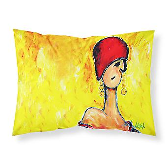 Azalines Earrings Lady Fabric Standard Pillowcase