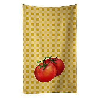 キャロラインズ宝物 BB7215KTWL トマト バスケットウェブ キッチン タオルの上に