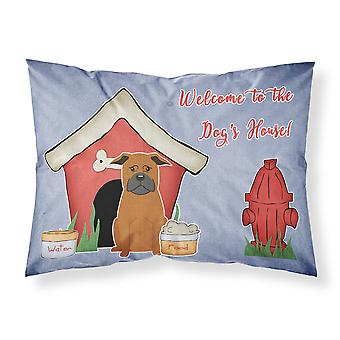 Dog House Collection Chinese Chongqing Dog Fabric Standard Pillowcase