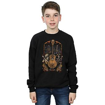 Disney Boys Coco Guitar Poster Sweatshirt