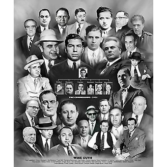 Wise Guys Poster Print von Wishum Gregory (20 x 24)