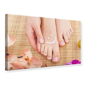 Lona impresión pies hermosos