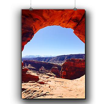 Matte or Glossy Poster with Grand Canyon Photo Nature | Wellcoda | *q261