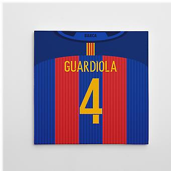2016-2017 Barcelona Canvas Print (Guardiola 4)