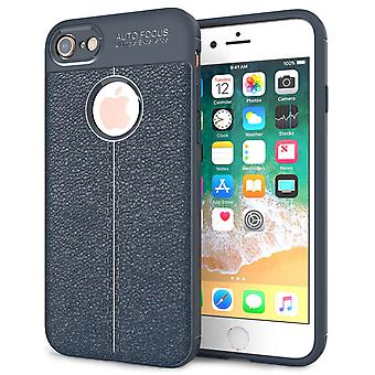 iPhone 8 Auto Focus Gel Case - Blue