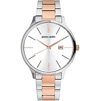 Pierre Cardin mens watch wristwatch Gare you North stainless steel PC902171F06