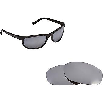 Ray Ban Predator 2027 Replacement Lenses Polarized Silver by SEEK fits RAY BAN