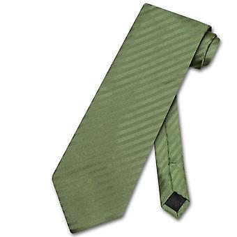 Vesuvio Napoli Krawatte gestreift Längsstreifen Herren Krawatte