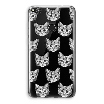 Huawei Ascend P8 Lite (2017) Transparant Case - Kitten