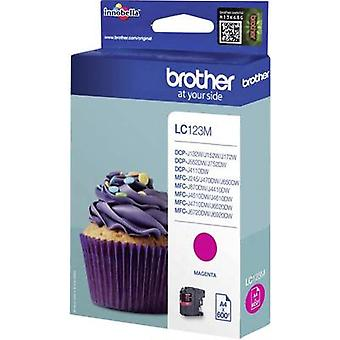 Brother Ink LC - 123M opprinnelige Magenta LC123M